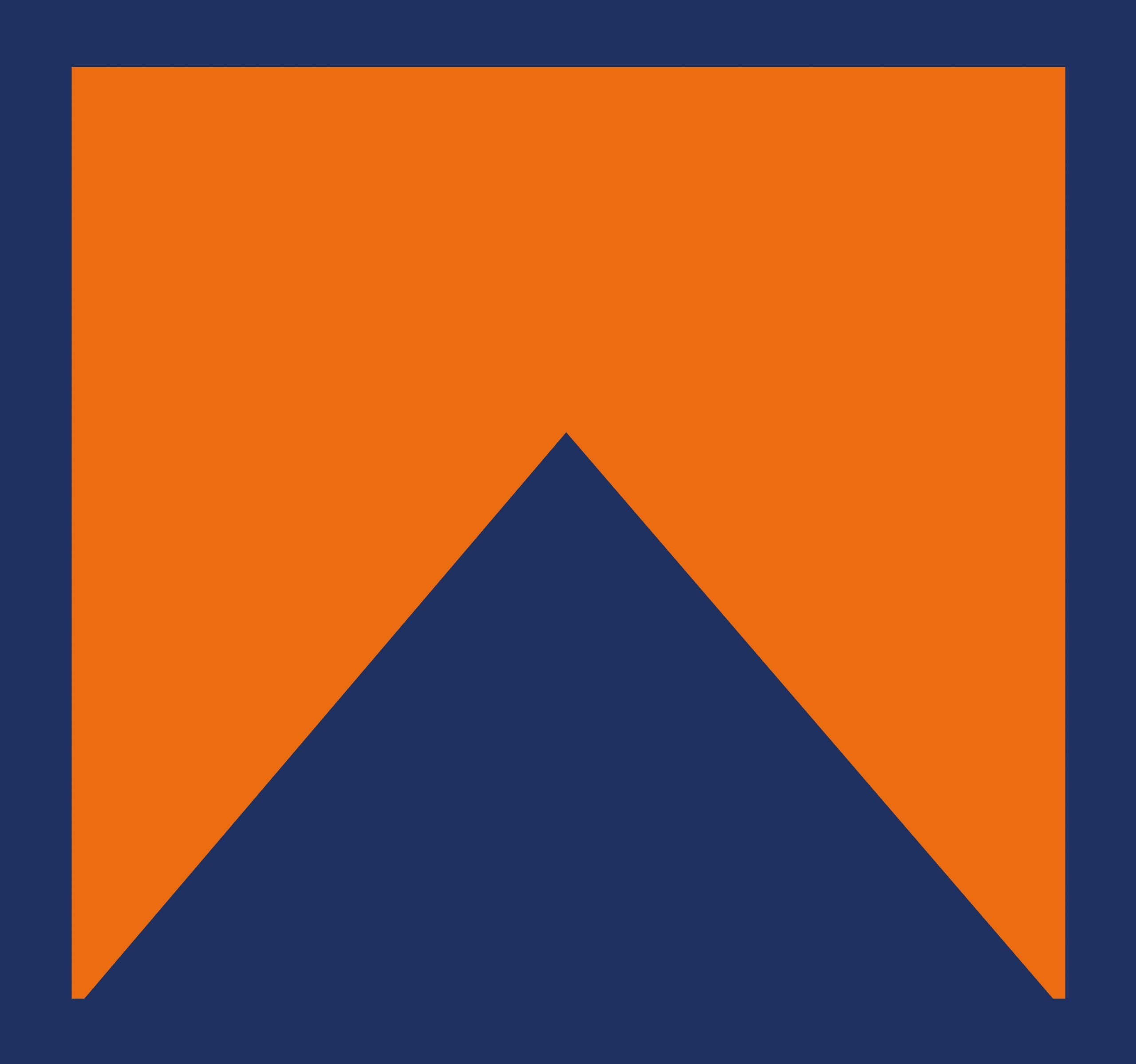 """The orange and blue """"Ark"""" logo for Ark Contracting Services, LLC."""